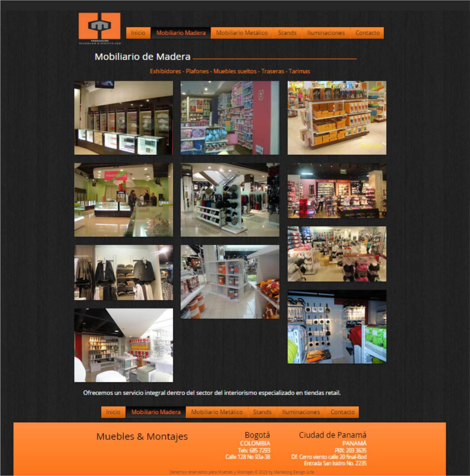 Paginas Web Marketing Design # Muebles Cid En Bogota