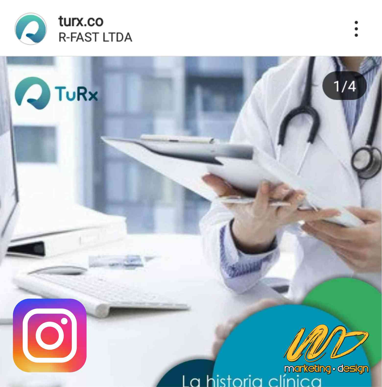 Clientes Instagram Marketing Design 1901