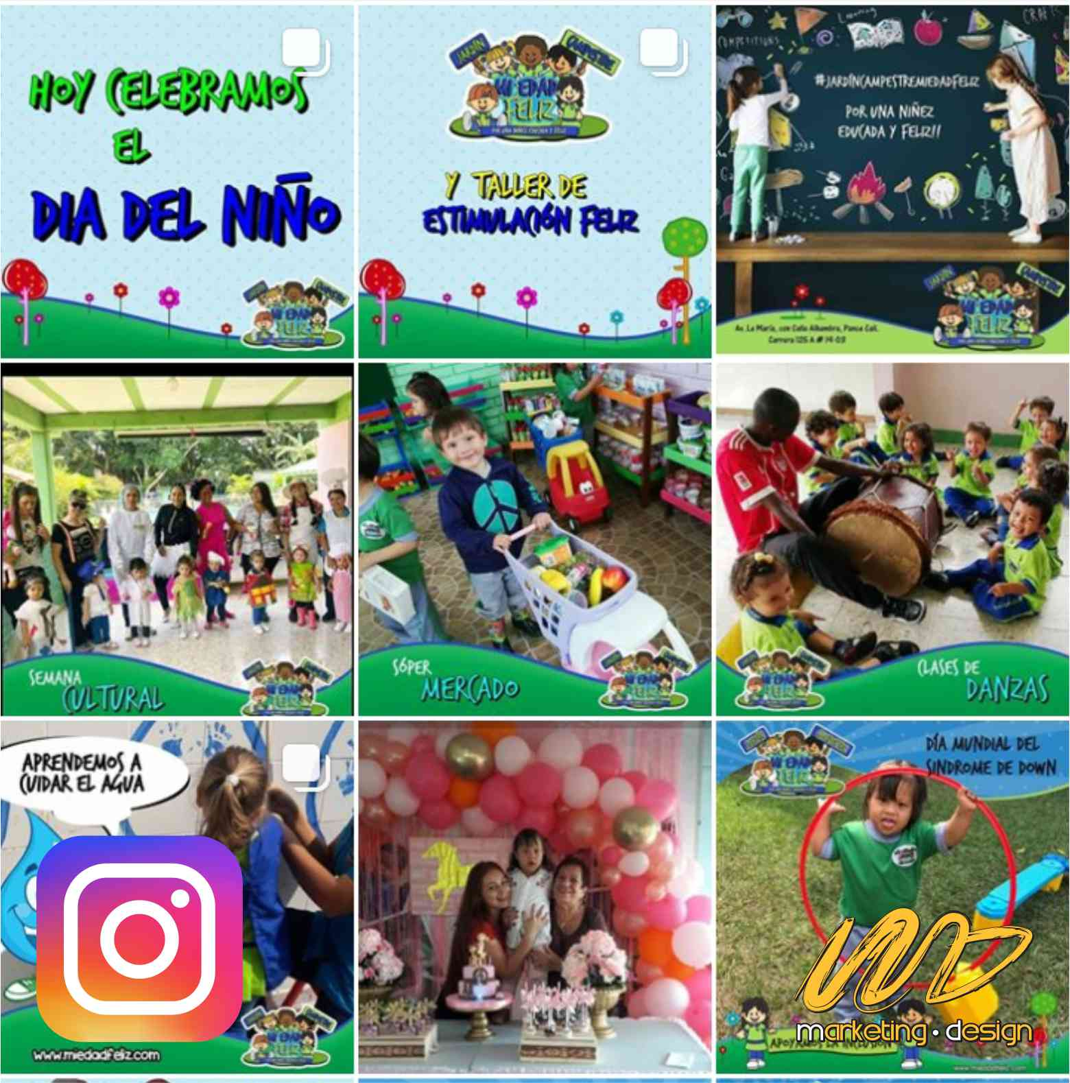 Clientes Instagram Marketing Design 1906