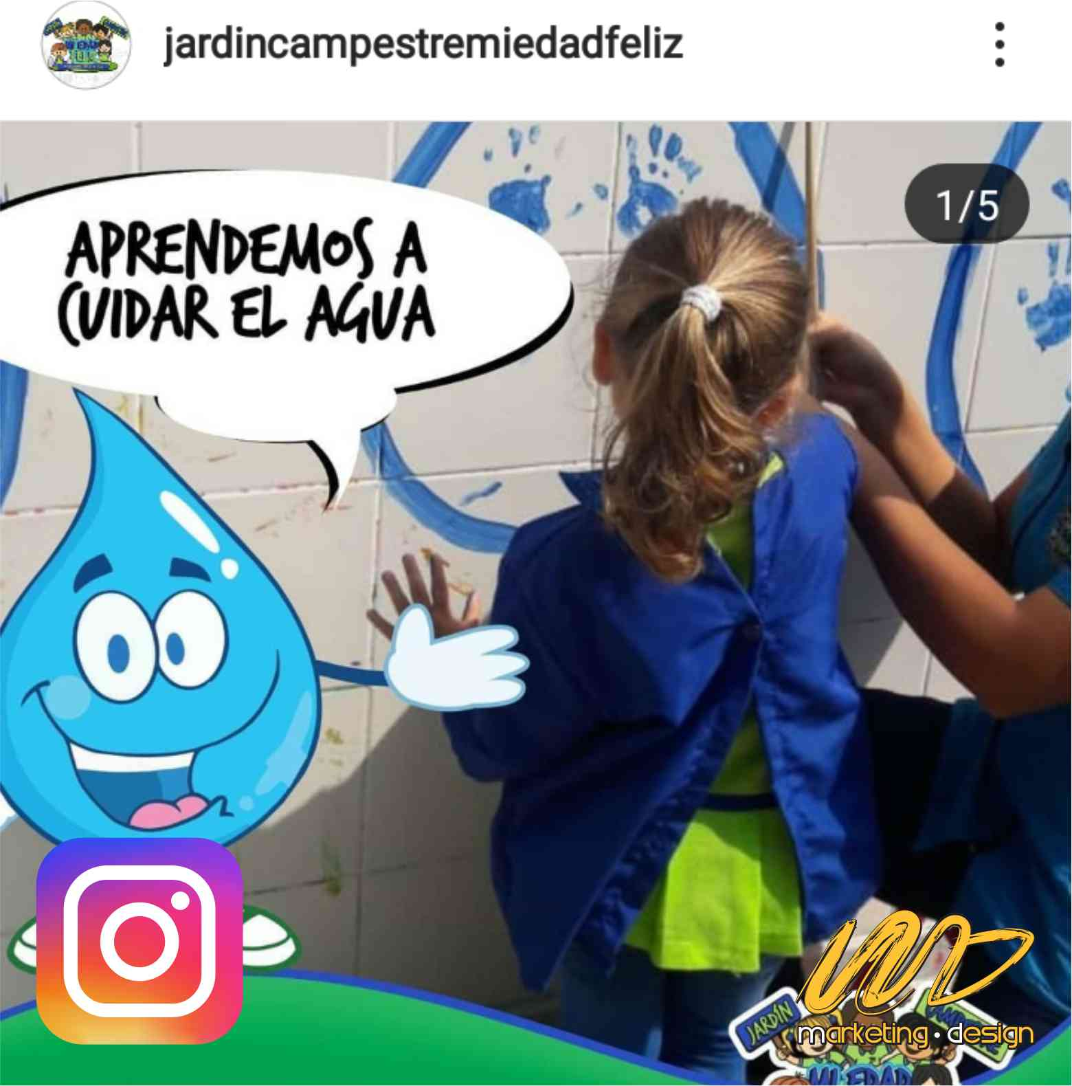 Clientes Instagram Marketing Design 1907