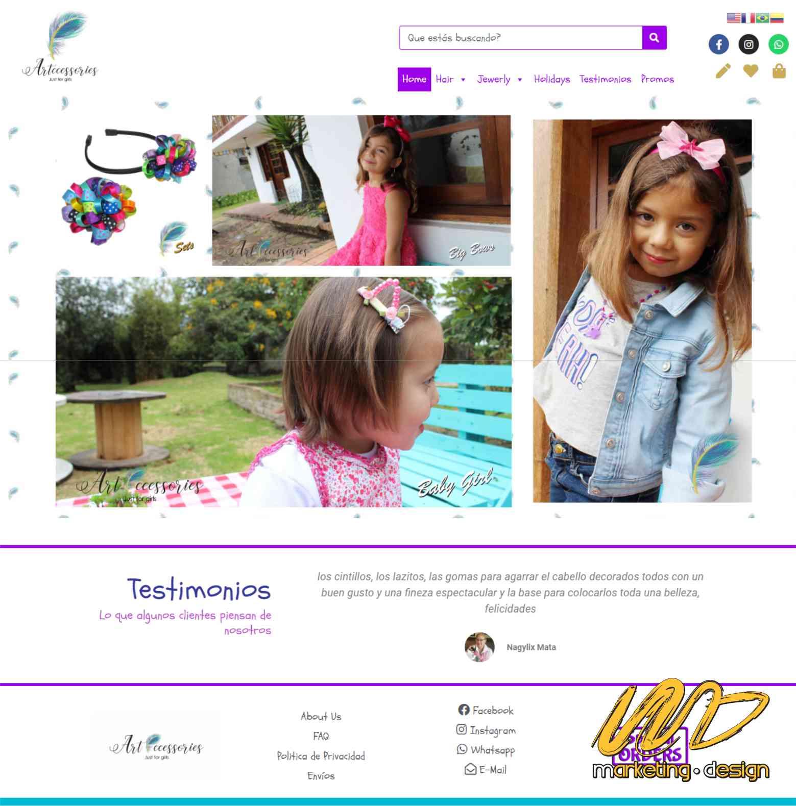 Sitios Web Marketing Design 1902