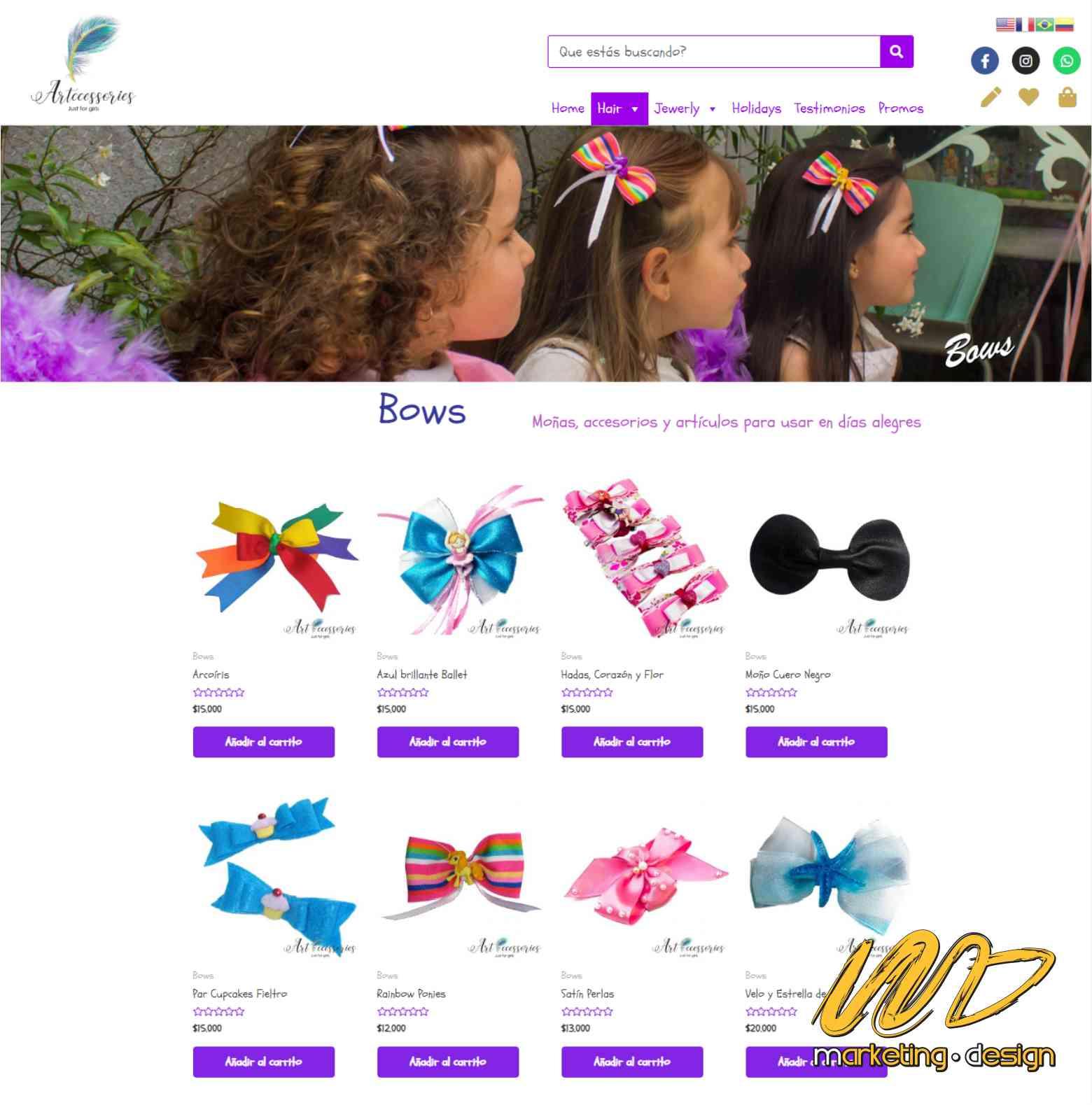 Sitios Web Marketing Design 1903