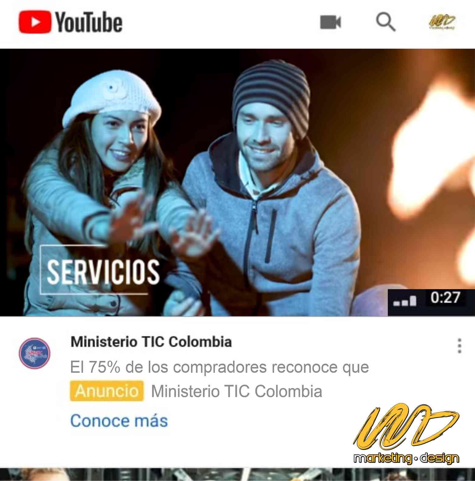 Clientes Pauta YouTube Marketing Design 1901