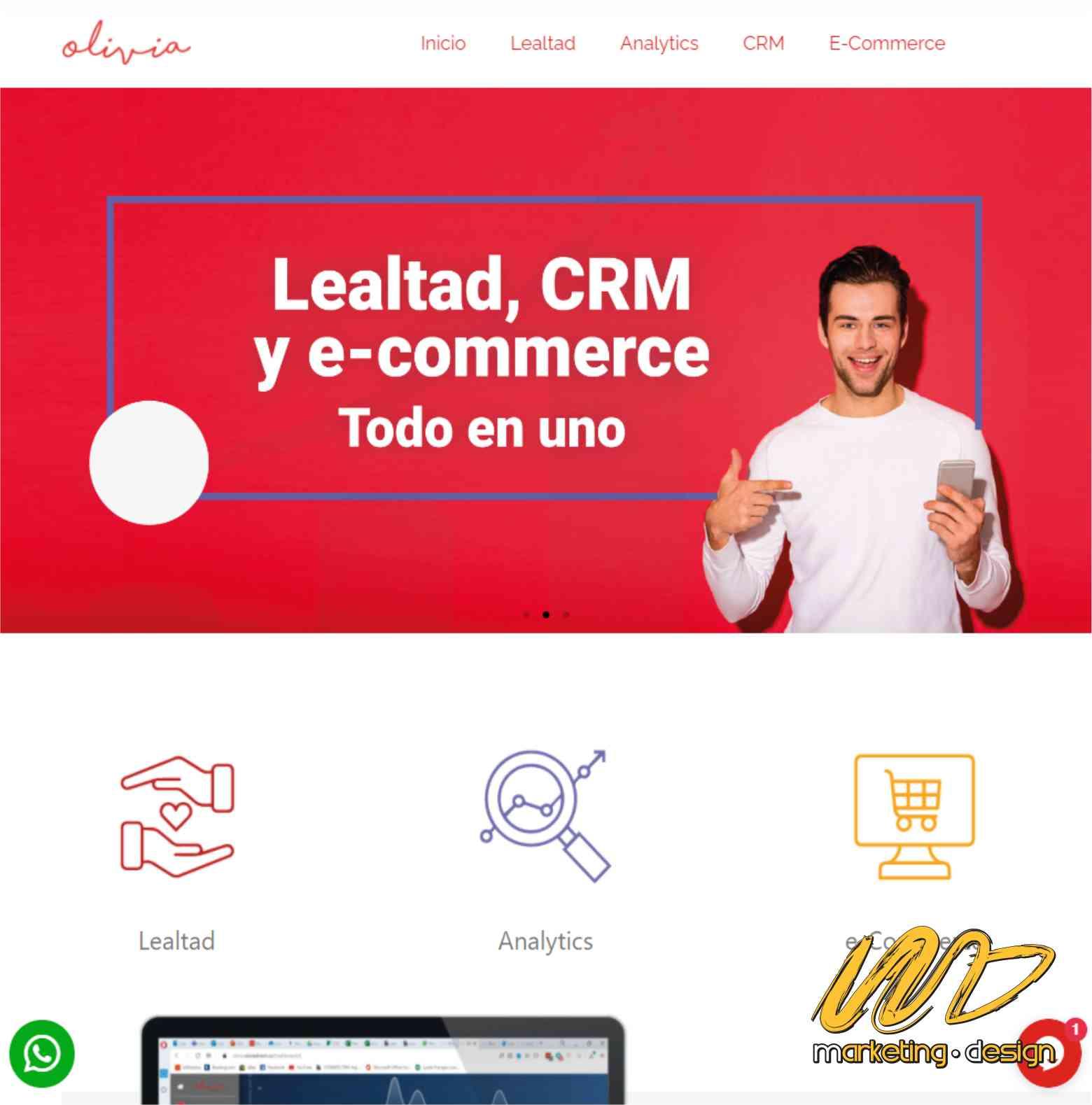 Sitios Web Marketing Design 2006